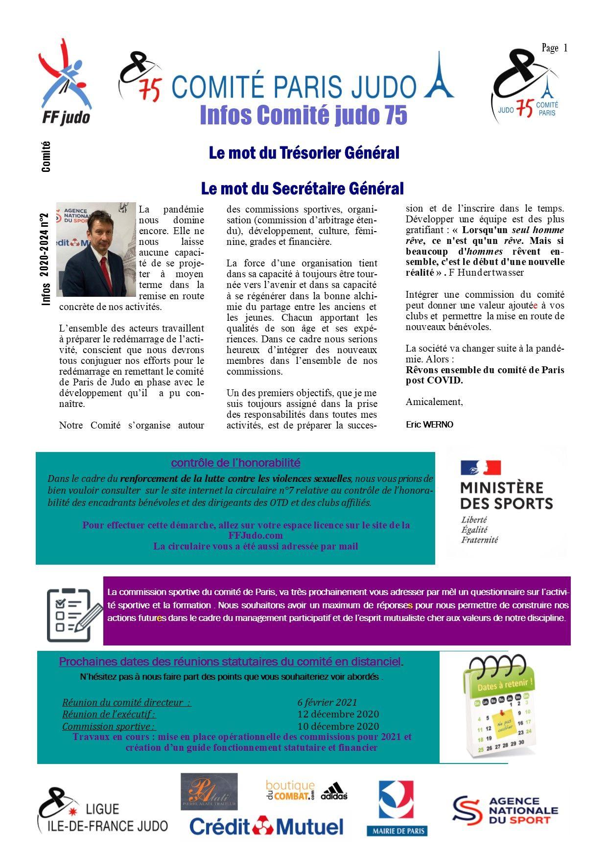 Image de la page 'Infos judo 75 - décembre 2020'